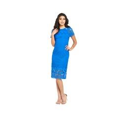 Warehouse Grid Lace Dress