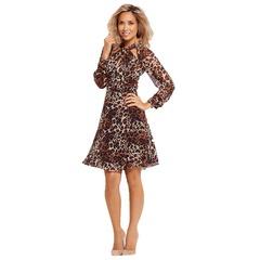 Myleene Klass Twist Front Long Sleeved Dress