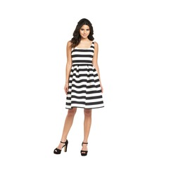 Warehouse Stripe Prom Dress