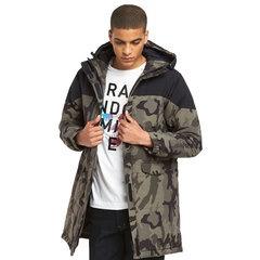 Replay Camo Hooded Parka Jacket