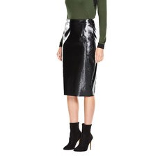 V By Very PU Pencil Skirt